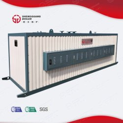 L'induction électrique de la vapeur industrielle horizontale chaudière à eau chaude 0.5-4T/H