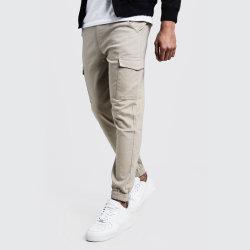 Bonne qualité coton sergé Fashion Les amateurs de jogging pantalon cargo Vente chaude