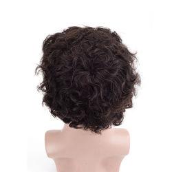 № 1 мужчин Toupee парики - Качество французского кружева - Замена волос