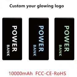 FCC/CE/RoHS 10000mAh 휴대폰 전원 뱅크(로고 포함