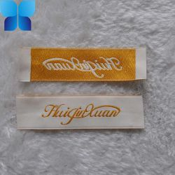 Hoogwaardige Polyester Satin Woven Label Voor Kleding