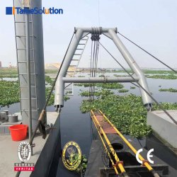 14 de Volledige Schepen van de Baggermachine van de Zuiging van de Hydraulische Snijder Inch/CSD350 met Vervangstukken voor Verkoop