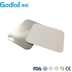 2020 tamanhos diferentes de papel alumínio contentor tampa de papel a partir de Godfoil