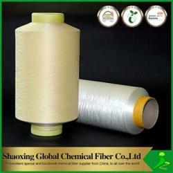 Het antibacteriële Gemakkelijke Garen Van kationen van de Polyester van de Kleurstof