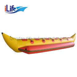 Boot 8 van de Banaan van de Sporten van het Water van de Boot van de Banaan van pvc van Korea van Ilife Opblaasbare Extreme Mensen