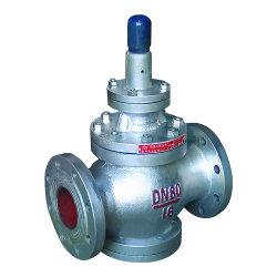 Dn100 Pn16 Wcbのステンレス鋼弁ピストンタイプ蒸気圧力減圧弁