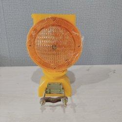 La luz de advertencia LED amarillo tráfico Solar Luz de emergencia