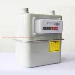 Le gaz naturel de biogaz de compteurs de gaz à membrane GPL ménage Compteur de gaz