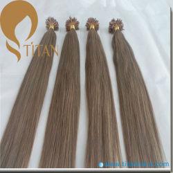 Реми человеческого волоса Pre-Bonded U Наконечник удлинителя волос