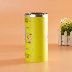 Цветные ламинированные плоский чехол пленки для закуски пакета