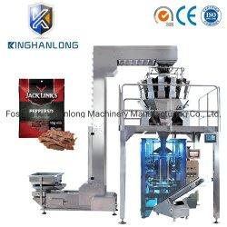 China Fornecedores Venda de fábrica Pesagem de Beef Jerky pequena máquina de embalagem