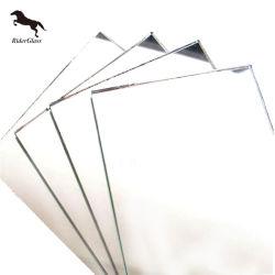 Rider clair miroir de feuilles en aluminium double revêtement
