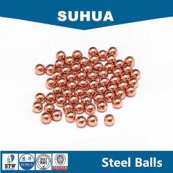 C1100固体銅の球7mmの小さい金属球