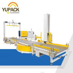 Automatischer Transferrollenförderer Palettenband Banding Stretchfolie Schrumpffolie Umverpackung Verpackungseinheit Verpackungsmaschine