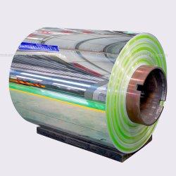 Rouleau de la bobine d'aluminium (3003 8011 1050 1060 1100) de la bobine en aluminium pour les canettes/ Décoration/toiture/mur-rideau