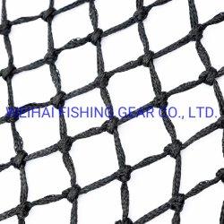 Reticolato Braided del Multifilament della corda di colore nero per le attrezzature di pesca