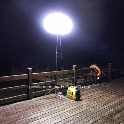 Super Silencioso Luz Móvel Torre com Conversor Digital gerador de emergência, construção, escola, Camping etc