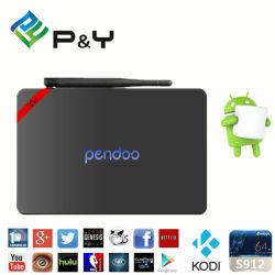 Nuevo S912 Android TV Box Pendoo Reproductor multimedia de X92 con 2GB+16GB Bluetooth Smart Decodificador.