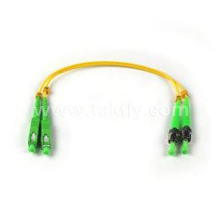 Le plus récent à SC St APC APC Duplex Mode unique cordon de raccordement à fibre optique