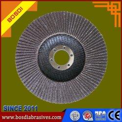 中国ステンレス鋼のための研摩の紙やすりで磨くディスク折り返しの車輪