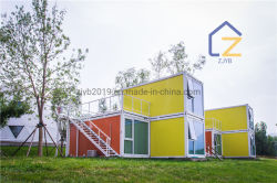 Casa modular com a norma global para o hotel/resort