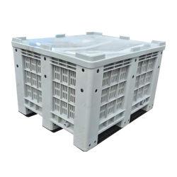 Caja de Paletas de Plástico de Malla de HDPE de Fruta Grande para Agricultura