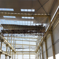 Produits HANGAR HANGAR des structures de bâtiments de construction en acier du toit