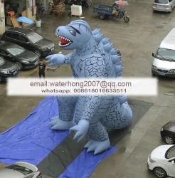 Godzilla gonflable publicité monstre gonflable les animaux