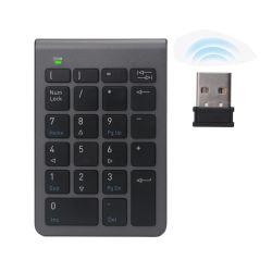 Pavé numérique USB sans fil 2,4 Ghz 22 clavier Clavier numérique de clé