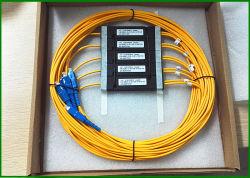 Comprimento de onda 1310 1350nm acoplador em fibra óptica, 2 a 1 Rácio de acoplamento do Divisor Óptica 10 / 90