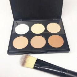 OEM usine maquillage Private Label 6 Face à la poudre de couleur de contour