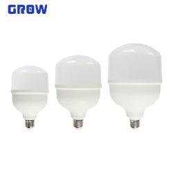 La Chine usine du fabricant de haute puissance lampe en T 20W/30W/40W/50W Ampoule de LED de l'Énergie de l'enregistrement des voyants LED ampoule lampe RoHS avec ce approuvé