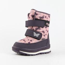 Winter Stiefeletten Pelz Futter Warme Schneeschuhe Flauschig Anti-Rutsch Wasserdichte Wanderschuhe Trekking Schuhe