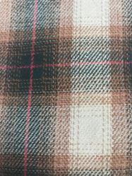 100枚の綿の糸染められたファブリックコットンフランネルの織物