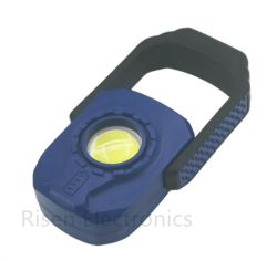 التخييم الخارجي المشي لمسافات طويلة مقاومة للماء قابلة لإعادة الشحن مصباح الإضاءة الغامرة المحمول باليد COB مصباح LED للعمل مع مصابيح العمل للسيارة