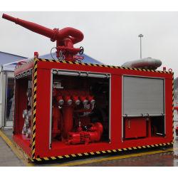 CCS, BV, ABS het Mariene 1800m3/H Containerized Systeem Fifi van de Brandbestrijding