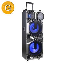 Hölzerner StereoberufsBluetooth Partei-Laufkatze-Computer-Lautsprecher