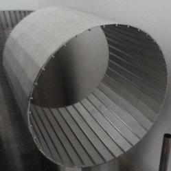 Wire-Wrapped do Tubo de Aço Inoxidável