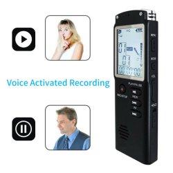 Registratore vocale digitale Dittaphone da 16 GB USB Professional con audio digitale e registratore wav, lettore MP3 T60 da 96 ore e 1536 Kbps