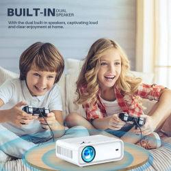 La conception populaire Home Cinema Full HD de multiples connexions Android système Portable Mini projecteur intelligent en stock
