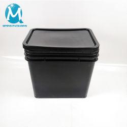 Rectangular, balde plástico para pintar 10 litros