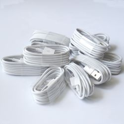 Blitz iPhone Aufladeeinheits-Kabel kompatibel für iPhone X Case/8/8 Plus/7/7 Plus/6/6s Plus/5s/5, iPad Mini