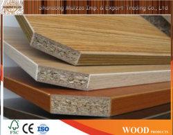 Verschillende kleuren/ontwerpen/diverse dikte/melamine Geparticle Board voor meubilair