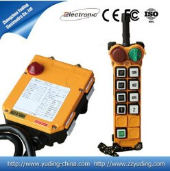 China melhor controle remoto sem fio industrial de Preço 8 Botão para o guincho F24-8d
