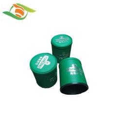كأس ثلج صغير مصنوع يدويا من الجلد PU مع مصنوفة عالية فاخرة كوب مكعبات جلدية عالية الجودة بيضاوي