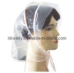 Cappello di plastica della pioggia/protezione a gettare di Cap/PE