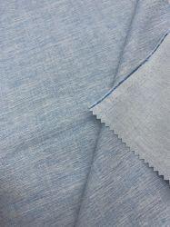 Traje de chaqueta de abrigo vestidos vaqueros de material reciclado personalizado de satén de algodón elástico Super vaqueros pantalones vaqueros tejido sarga