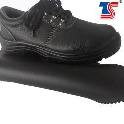 2.0mm S2 標準安全靴レザーブラックカラーマイクロファイバーレザー