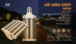 5700K 屋外商業エリア照明、 250 W メタルハリド EQ 、 Dusk to Dawn LED 駐車場照明