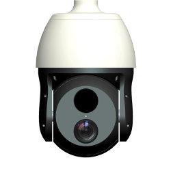 دقة عالية الوضوح مقاومة للماء بدقة 2 ميجابكسل مع زووم بصري 46× و640X480 عدسة التصوير الحراري مقاس 50 مم، كاميرا PTZ ذات سرعة مزدوجة مع حساس مزدوج